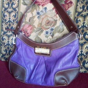 Chaps brand leather handbag